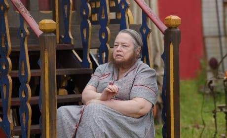 Kathy Bates as a Freak - American Horror Story