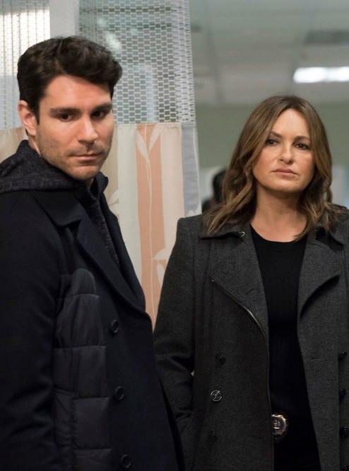 Benson and Johnston - Law & Order: SVU Season 20 Episode 17