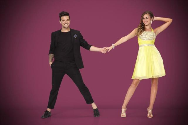 Sadie Robertson and Mark Ballas