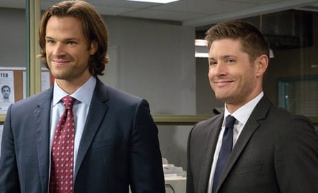 Sam And Dean Fighting Crime - Supernatural