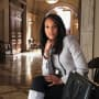 Olivia Pope Visits How to Get Away with Murder - Scandal