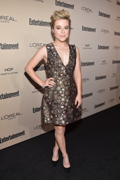 Tina Majorino Attends Emmy Party