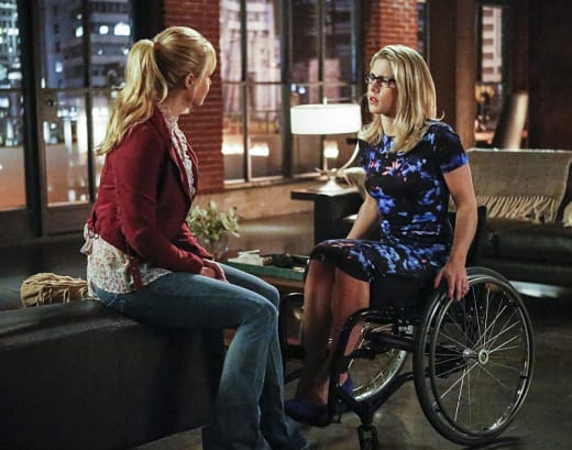 Mother Daughter Chat - Arrow Season 4 Episode 13