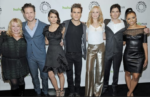 The Vampire Diaries Cast PaleyFest Photo