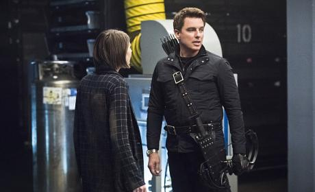 Pleading or not - Arrow Season 4 Episode 21