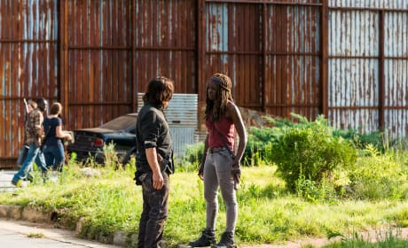 Chitchat - The Walking Dead Season 8 Episode 8