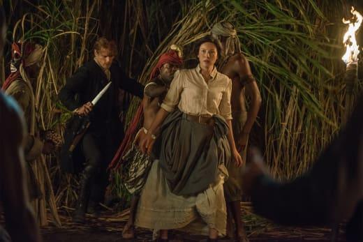 Following Sounds In The Jungle - Outlander Season 3 Episode 13