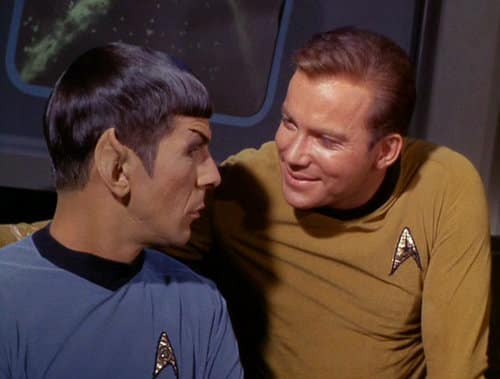 Captain Kirk and Mr. Spock - Star Trek
