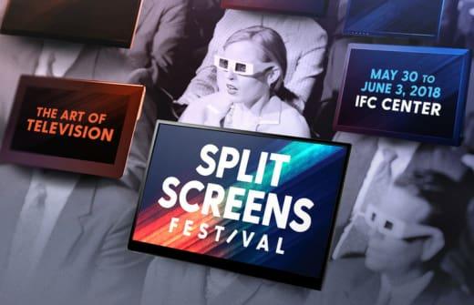 Split Screens Art