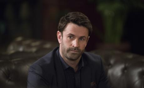 Mick listens carefully - Supernatural Season 12 Episode 16