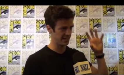 Grant Gustin Teases The Flash Season 2, Barry's Journey