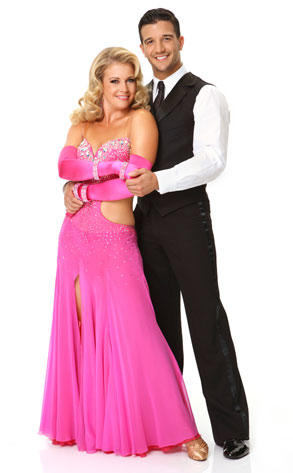 Melissa Joan Hart and Mark Ballas Photo