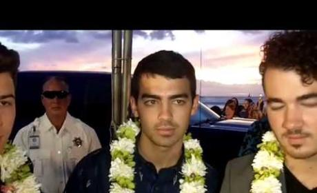 The Jonas Brothers Talk Hawaii Five-0