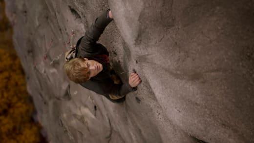 A Vertical Cliff - MacGyver