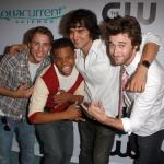 Dustin Milligan, Tristan Wilds, Michael Steger and Ryan Eggold