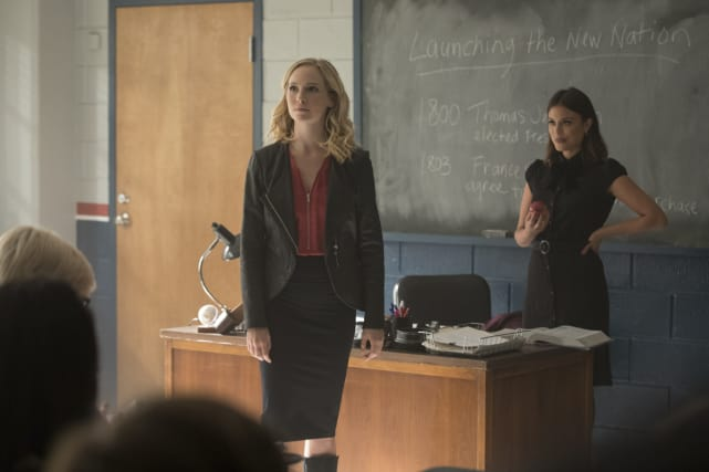 Career Day - The Vampire Diaries Season 8 Episode 8