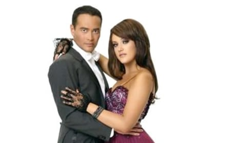 Mark Dacascos and Lacey Schwimmer Photo