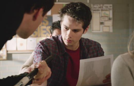 Stiles on Teen Wolf