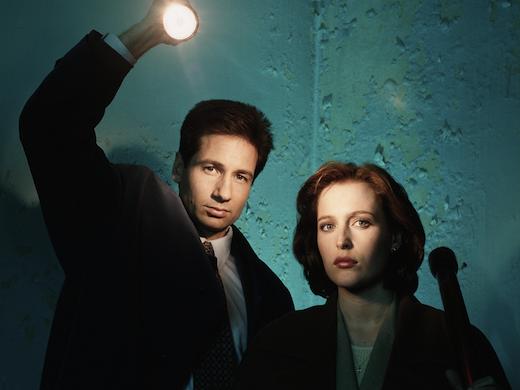 The X-Files stars
