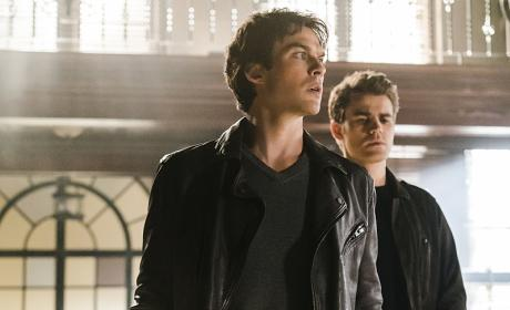 Damon and Stefan Team Up - The Vampire Diaries