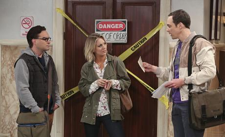 Sheldon is Excited - The Big Bang Theory Season 9 Episode 14