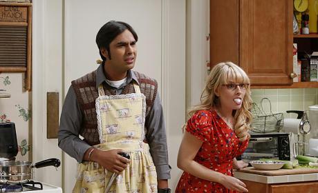 Thanksgiving on The Big Bang Theory