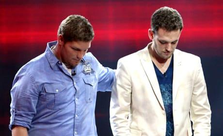Michael Sarver and Matt Giraud