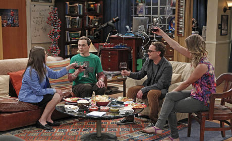 Toast to Sheldon