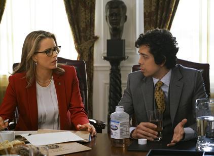 Madam secretary season 3 episode 8 tv fanatic for Why is nadine leaving madam secretary
