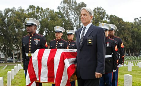 Gibbs at the Funeral