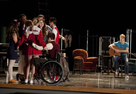 Glee Group Hug