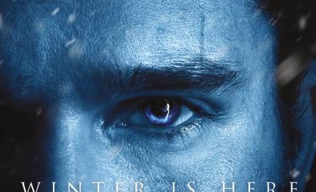 Jon Snow Season 7 Poster - Game of Thrones
