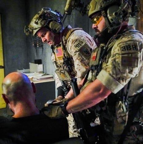 Intense Interrogation - SEAL Team Season 4 Episode 5