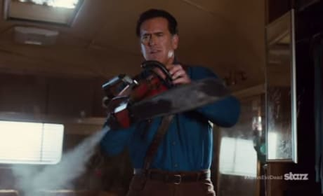 Ash vs Evil Dead BTS: The Reluctant Hero and His Crew