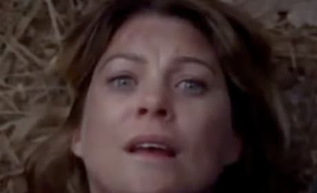 Terrified Meredith