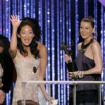 Sandra Oh and Ellen Pompeo