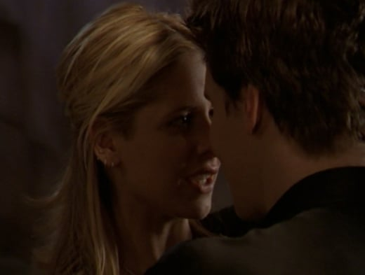 Buffy And Angel Reunited - Buffy the Vampire Slayer Season 2 Episode 22