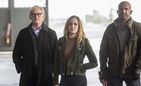 Stein Is Back - The Flash Season 3 Episode 8