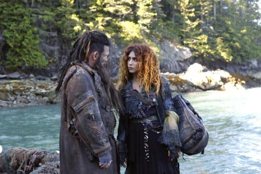 Nyko and Luna - The 100 Season 4 Episode 4