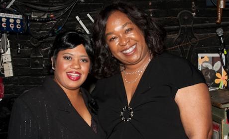 Chandra Wilson and Shonda Rhimes
