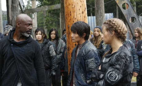 Monty and Harper - The 100 Season 4 Episode 4