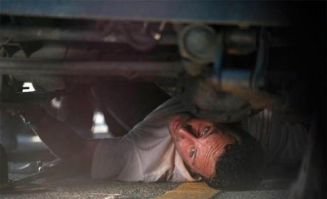 Under a Car