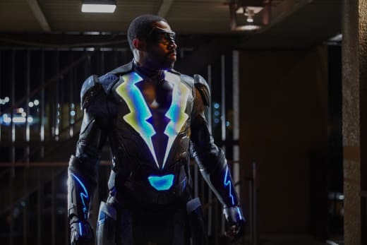 A Retired Superhero - Black Lightning