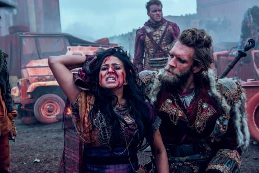 Nos Terrorizes Portia - Into the Badlands Season 2 Episode 5
