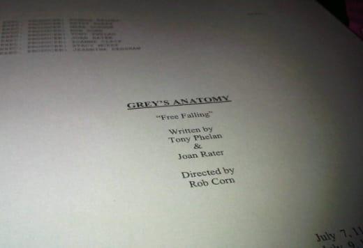 Grey\'s Anatomy Season Premiere Script: Tweeted! - TV Fanatic
