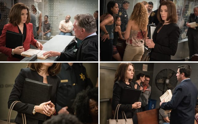 Starting at the bottom the good wife s7e1