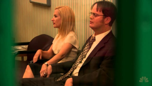 Dwight and Angela -- The Office
