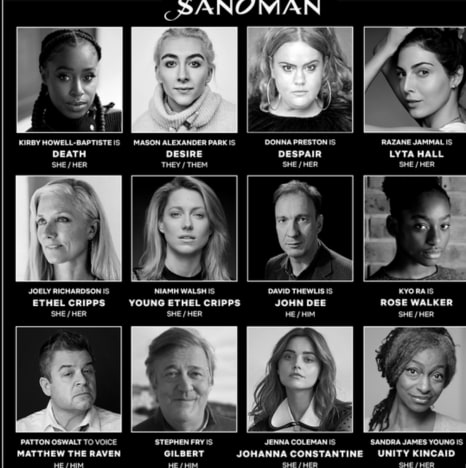 The Sandman Wave 2 Casting