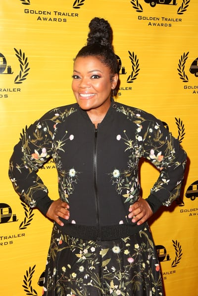 Yvette Nicole Brown Attends Golden Trailer Awards