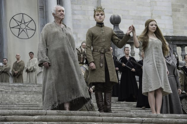 Tommen and Margary - Game of Thrones Season 6 Episode 6